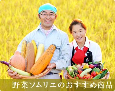 野菜ソムリエのおすすめ商品
